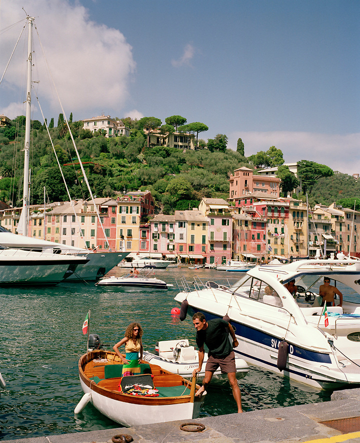 Boating in Portofino, Liguria, ITALY
