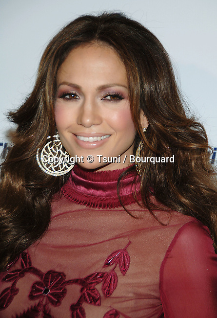 Jennifer Lopez arriving at Los Angeles Free Clinic Dinner Gala at the Beverly Hilton in Los Angeles.<br /> <br /> headshot<br /> smile<br /> eye contact