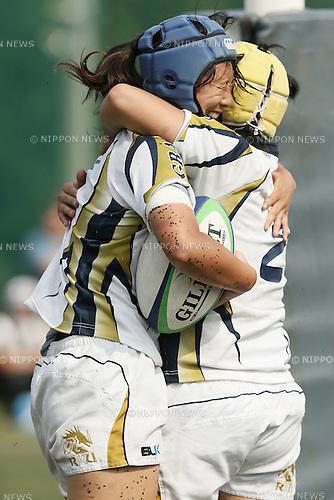 Chikami Inoue (GRACE),<br /> JULY 20, 2014 - Rugby : <br /> Women's Sevens Series 2014 Yokohama <br /> RKU Rugby Ryugasaki GRACE 21-17 Setagaya Ladies<br /> at YCAC ground in Kanagawa, Japan. <br /> (Photo by Shingo Ito/AFLO SPORT) [1195]