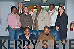 LEBOTHO DELEGATION: Peete Mohale (Minister Counsellor Lebotho Embassy) and member's of Lebotho Trade and Tourism delegation being welcomed on their visit by Maryrose Stafford to Tralee IT on Friday front l-r: Mamoruti Malie (Principal Secretary Ministry of Tourism) and Mpai Tseola (Tourism Officer). Back l-r: Makibiti Moeketsi (student ITT), Brian O'Connor, Claire Corcoran (Trade and Tourism Attache Lebotho Embassy), Peete Mohale (Minister Counsellor Lebotho Embassy), Lerato Molise (student ITT) and Maryrose Stafford..   Copyright Kerry's Eye 2008