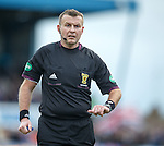 Referee Mike Tumilty