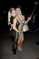LONDON, ENGLAND - NOVEMBER 09 :  Sienna Day and Rebecca More attend The Paul Raymond Awards 2017, at the Cafe de Paris on November 09, 2017 in London, England.<br /> CAP/AH<br /> &copy;Adam Houghton/Capital Pictures