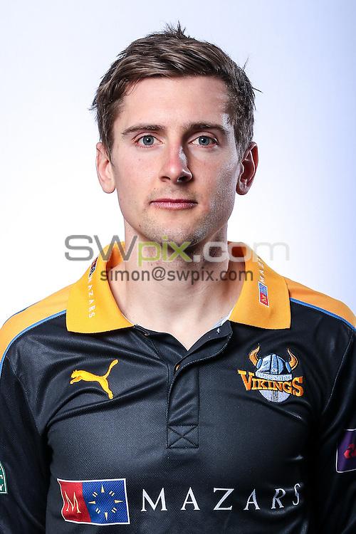 Picture by Alex Whitehead/SWpix.com - 03/04/2015 - Cricket - Yorkshire CCC Headshots - Headingley Stadium, Leeds, England - Yorkshire's Dan Hodgson