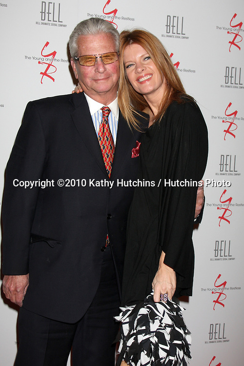 Paul Rauch & Michelle Stafford.arrivng at The Young & The Restless 37th Anniversary Dinner.Via Allorro.Beverly Hills, CA.March 9, 2010.©2010 Kathy Hutchins / Hutchins Photo....