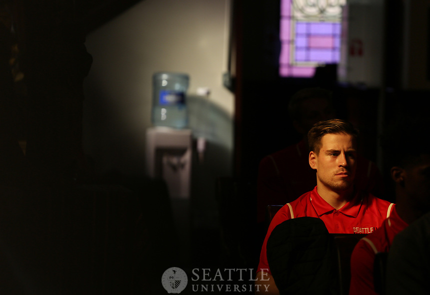 September 28th, 2017 - Seattle University faculty, staff and students participate in the Mass of the Holy Spirit.