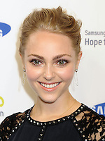 NEW YORK CITY, NY, USA - JUNE 10: AnnaSophia Robb at the 13th Annual Samsung Hope For Children Gala held at Cipriani Wall Street on June 10, 2014 in New York City, New York, United States. (Photo by Celebrity Monitor)