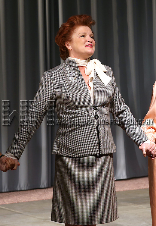 Kate Mulgrew during the Opening Night Curtain Call for the Vineyard Theatre Production of 'Somewhere Fun' at the Vineyard Theatre in New York City on June 04, 2013.