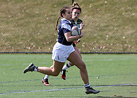 Penn State women's rugby Corinne Heavner against Allegheny All Stars women's rugby on March 31, 2018.  Photo/© 2018 Craig Houtz