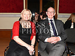 Bobby and Terri Williams at the Irish Doctors choir at an Grianan in aid of the Gary Kelly Centre. Photo:Colin Bell/pressphotos.ie