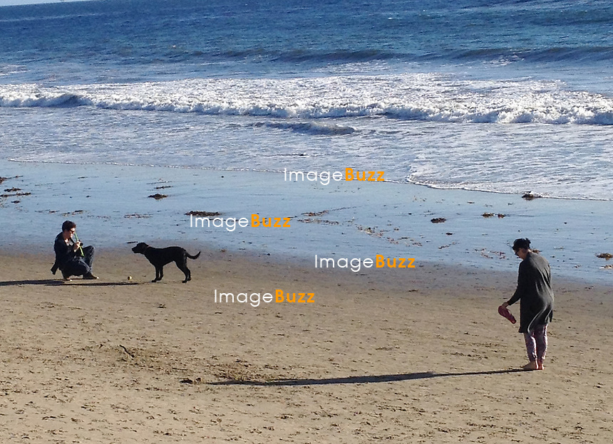 Katy Perry and John Mayer celebrate Christmas Eve together on the beach, in Montecito, California. December 24, 2012..EXCLUSIVE PHOTOS