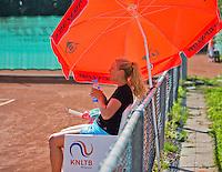 Netherlands, Amstelveen, August 23, 2015, Tennis,  National Veteran Championships, NVK, TV de Kegel,  Lady's single final 35+ years: Jasmin Jane Gerritsen<br /> Photo: Tennisimages/Henk Koster