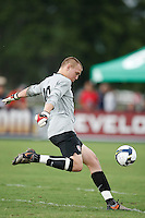 USA goalkeeper Cody Cropper (18). The US U-17 Men's National Team defeated the Development Academy Select Team 3-1 during day one of the US Soccer Development Academy  Spring Showcase in Sarasota, FL, on May 22, 2009.