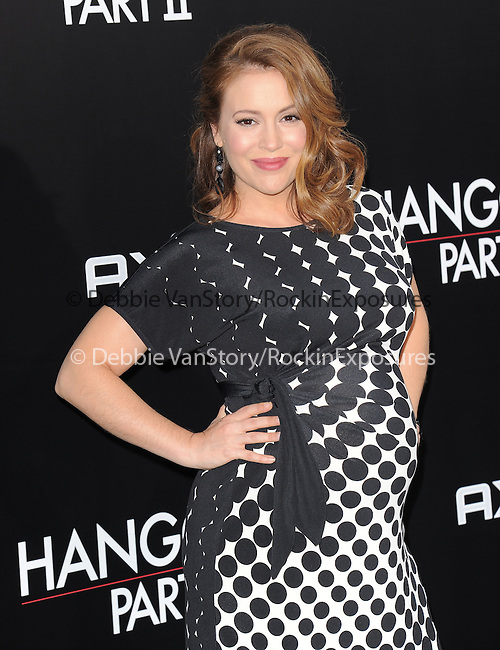 Alyssa Milano at Warner Bros Pictures' L.A. Premiere of The Hangover Part 2 held at The Grauman's Chinese Theatre in Hollywood, California on May 19,2011                                                                               © 2011 Hollywood Press Agency