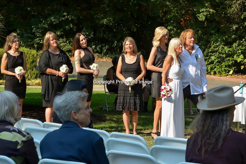 Janet and Mattx' Hard Rock Wedding in Moraga, CA.