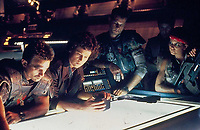 Aliens (1986)<br /> Sigourney Weaver, Michael Biehn, Bill Paxton, Paul Reiser &amp; Jenette Goldstein<br /> *Filmstill - Editorial Use Only*<br /> CAP/KFS<br /> Image supplied by Capital Pictures