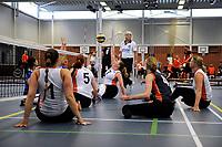 ASSEN - Volleybal, Internationaal zitvolleybal toernooi, Nederland - Rusland, 01-07-2017,  aanvang met Jaqueline Koppers
