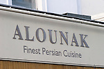 Alounak Restaurant, London, city, England, UK, United Kingdom, Great Britain, Europe, European