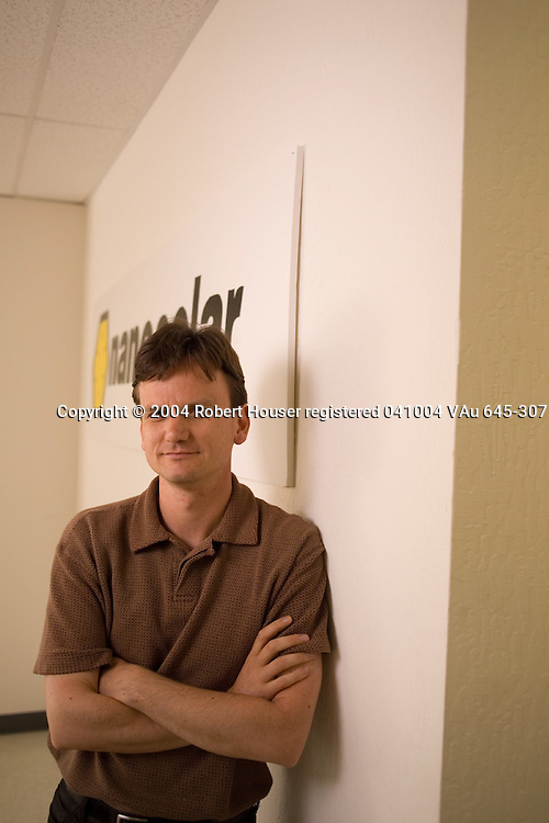 Martin Roscheisen - CEO - NanoSolar: Executive portrait photographs by San Francisco - corporate and annual report - photographer Robert Houser.