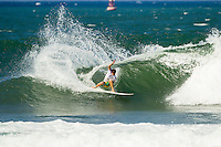 HONOLULU - (Saturday, November 24, 2012) Alejo Muniz (BRA). -- The REEF Hawaiian Pro at Haleiwa Ali'i Beach wrapped up today with Sebastien 'Seabass'  Zietz (HAW) taking out first place ahead of defending Triple Crown Champion John John Florence (HAW) with fellow North Shore local Fred Patacchia (HAW) in third and Brazilian Alejo Muniz (BRA) in fourth. On the strength of the results both Zietz and Patacchia will qualify for the 2013 World Championship Tour.. Photo: joliphotos.com
