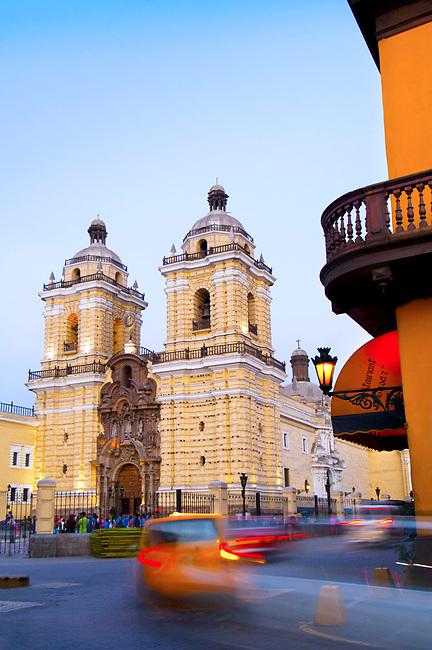 Lima, Peru, San Francisco Monastery And Church, Iglesia de San Francisco, UNESCO World Heritage Site