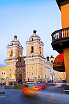 Lima, Peru, San Francisco Monastery And Church, Iglesia de San Francisco, UNESCO World Heritage Site
