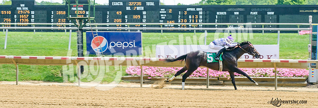 Mid Life Crisis winning at Delaware Park on 7/20/15