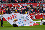 01.12.2018, RheinEnergieStadion, Koeln, GER, 2. FBL, 1.FC Koeln vs. SpVgg Greuther Fürth,<br />  <br /> DFL regulations prohibit any use of photographs as image sequences and/or quasi-video<br /> <br /> im Bild / picture shows: <br /> Banner fuer Fairplay<br /> <br /> Foto © nordphoto / Meuter