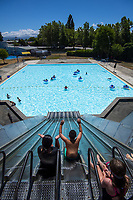 Trusthouse Recreation Centre Lido Pool in Masterton, New Zealand on Wednesday, 14 December 2019. Photo: Dave Lintott / lintottphoto.co.nz
