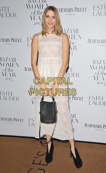 Elena Perminova attends the Harper's Bazaar Women of the Year Awards 2015, Claridge's Hotel, Brook Street, London, England, UK, on Tuesday 03 November 2015. <br /> CAP/CAN<br /> &copy;CAN/Capital Pictures