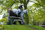 Badminton, Gloucestershire, United Kingdom, 4th May 2019, Isabel English riding Feldale Mouse during the Cross Country Phase of the 2019 Mitsubishi Motors Badminton Horse Trials, Credit:Jonathan Clarke/JPC Images