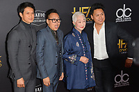 LOS ANGELES, CA. November 04, 2018: Harry Shum Jr., Nico Santos, Lisa Lu &amp; Jon M. Chu  at the 22nd Annual Hollywood Film Awards at the Beverly Hilton Hotel.<br /> Picture: Paul Smith/FeatureflashLOS ANGELES, CA. November 04, 2018: Wendy Starland at the 22nd Annual Hollywood Film Awards at the Beverly Hilton Hotel.<br /> Picture: Paul Smith/FeatureflashLOS ANGELES, CA. November 04, 2018: Harry Shum, Jr., Nico Santos, Lisa Lu &amp; Jon M. Chu at the 22nd Annual Hollywood Film Awards at the Beverly Hilton Hotel.<br /> Picture: Paul Smith/Featureflash