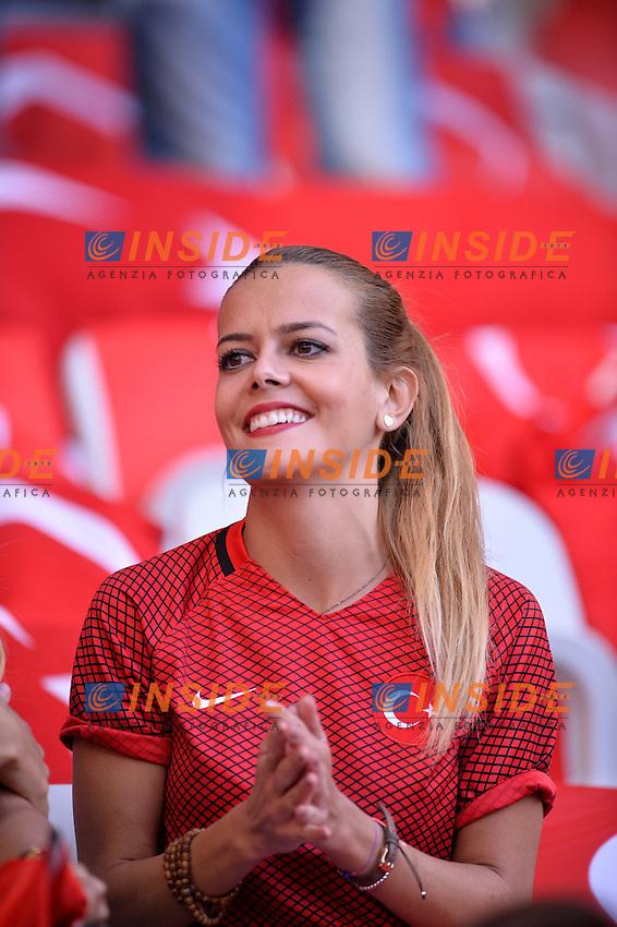 Fan Turkey Turchia Tifosi <br /> Nice 17-06-2016 Stade de Nice Football Euro2016 Spain - Turkey / Spagna - Turchia Group Stage Group D. Foto Anthony Bibard / Panoramic / Insidefoto