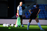 Alan Curtis, assistant coach for Swansea during the pre-match warm-up for the Sky Bet Championship match between Millwall and Swansea City at The Den in London, England. September 1, 2018