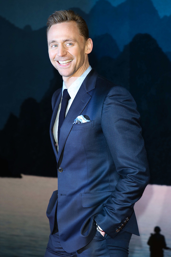 "Tom Hiddlestone<br /> arrives for the ""Kong: Skull Island"" premiere, Empire Leicester Square, London.<br /> <br /> <br /> ©Ash Knotek  D3235  28/02/2017"