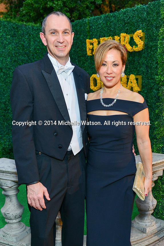 "Houston Grand Opera Ball ""Fleurs de l'Opera"" at Wortham Theatre"