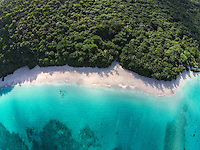 Aerial view of Cinnamon Bay<br />