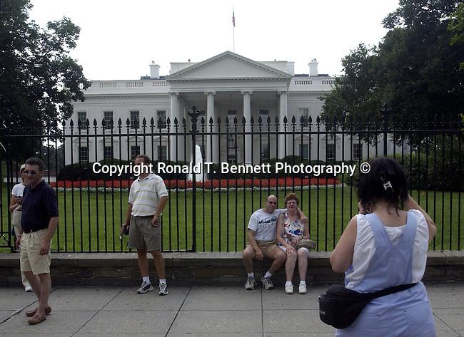 White House tourist Washington D.C., Washington, D.C. fine art photography by Ron Bennett (c). Copyright Fine Art Photography by Ron Bennett, Fine Art, Fine Art photo, Art Photography,