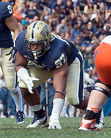 The Pitt Panthers defeated the Virginia Cavaliers 14-3 at Heinz Field, Pittsburgh, PA on Saturday, September 28, 2013.