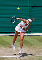 England, London, 27.06.2014. Tennis, Wimbledon, AELTC, Ana Konjuh (CRO)<br /> Photo: Tennisimages/Henk Koster