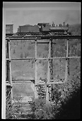 RGS #19 stopped on Ames Trestle, Bridge 43-A, in order to supply the repair crew at the base of the trestle.<br /> RGS  Ames, CO  Taken by Virden, Walter - pre 1920