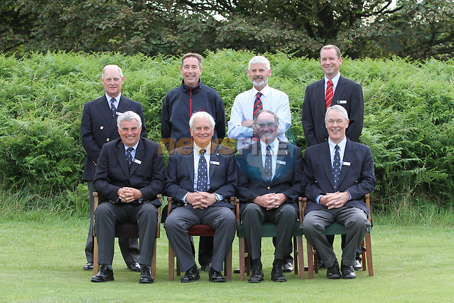 Referees on the Final Day of the 2012 Boys Home Internationals at Co.Louth Golf Club in Baltray, Co.Louth...(Photo credit should read Jenny Matthews/NEWSFILE)...