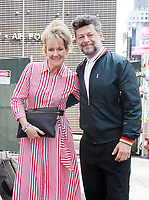 NEW YORK, NY July 13, 2017  Andy Serkis , Lorraine Ashbourne visit Nasdaq to promote  new movie War for the Planet of the Apes in New York July 13, 2017. Credit:RW/MediaPunch