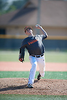 Kasey Baumgart (62), from Baltimore, Maryland, while playing for the Giants during the Baseball Factory Pirate City Christmas Camp & Tournament on December 30, 2017 at Pirate City in Bradenton, Florida.  (Mike Janes/Four Seam Images)