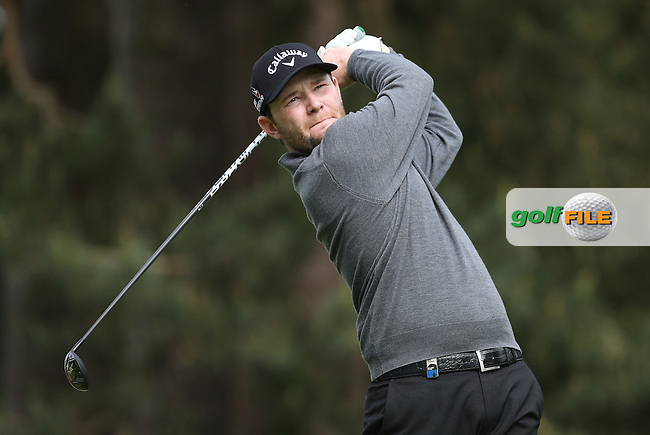 Branden Grace (RSA) during Round Two of the 2015 BMW PGA Championship over the West Course at Wentworth, Virginia Water, London. 22/05/2015Picture David Lloyd, www.golffile.ie.