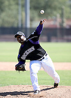 Isaiah Froneberger / Colorado Rockies 2008 Instructional League..Photo by:  Bill Mitchell/Four Seam Images