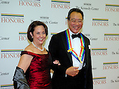 Yo-Yo Ma and Jill Hornor arrive for the formal Artist's Dinner honoring the recipients of the 2012 Kennedy Center Honors hosted by United States Secretary of State Hillary Rodham Clinton at the U.S. Department of State in Washington, D.C. on Saturday, December 1, 2012. The 2012 honorees are Buddy Guy, actor Dustin Hoffman, late-night host David Letterman, dancer Natalia Makarova, and the British rock band Led Zeppelin (Robert Plant, Jimmy Page, and John Paul Jones)..Credit: Ron Sachs / CNP