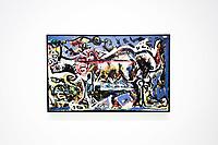 Jackson Pollock - The She Wolf<br /> Parigi 16-10-2017 MoMa <br /> Esposizione Arte moderna <br /> Foto JB Autissier / Panoramic / Insidefoto