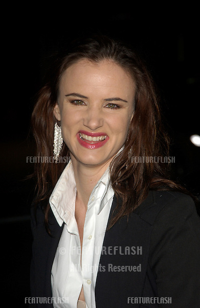 Actress JULIETTE LEWIS at the world premiere, in Hollywood, of Barbershop 2: Back in Business..January 20, 2004