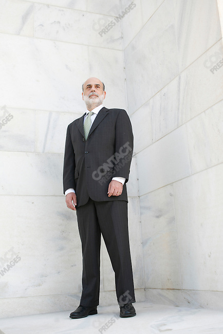 Ben Bernanke, Chairman of the Federal Reserve Bank at the FED headquarters, Washington, DC, USA, September 22, 2008