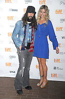 TORONTO, ON - SEPTEMBER 10: Filmmaker/musician Rob Zombie and actress Sheri Moon Zombie attend 'The Lords Of Salem' Premiere during the 2012 Toronto International Film Festival at the Ryerson Theatre on September 10, 2012 in Toronto, Canada. &copy;&nbsp;mpi01/MediaPunch Inc. /NortePhoto.com<br />